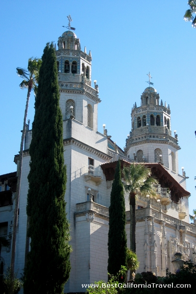 Hearst Castle, California - A blend of European Architectural styles.